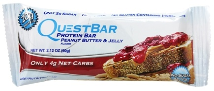 Zoom View - QuestBar Protein Bar