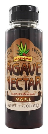 DROPPED: Madhava - Agave Nectar Flavored Sweetener Maple - 11.75 oz.
