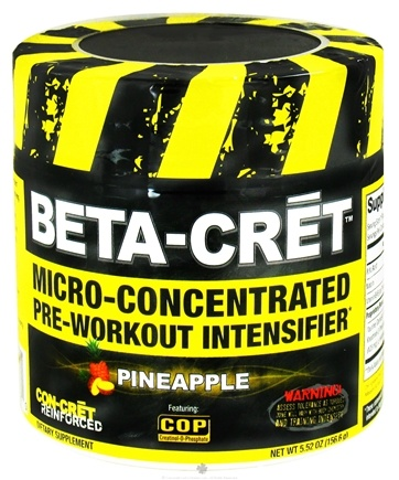 Zoom View - Beta-Cret Micro-Concentrated Pre-Workout Intensifier - 36 Servings