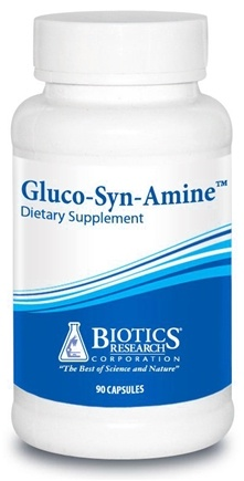 DROPPED: Biotics Research - Gluco-Syn-Amine - 90 Capsules CLEARANCE PRICED