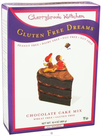 DROPPED: Cherrybrook Kitchen - Gluten Free Dreams Chocolate Cake Mix - 16.4 oz. CLEARANCE PRICED