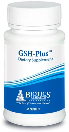 DROPPED: Biotics Research - GSH-Plus - 60 Capsules CLEARANCE PRICED