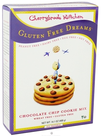 DROPPED: Cherrybrook Kitchen - Gluten Free Dreams Chocolate Chip Cookie Mix - 14.1 oz. CLEARANCE PRICED