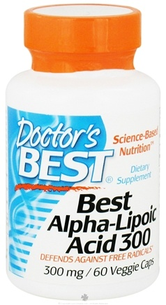 DROPPED: Doctor's Best - Best Alpha Lipoic Acid 300 mg. - 60 Vegetarian Capsules
