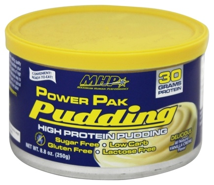 DROPPED: MHP - Power Pak Pudding Vanilla - 8.8 oz.