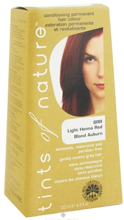 DROPPED: Tints Of Nature - Conditioning Permanent Hair Color 8RR Light Henna Red - 4.2 oz.