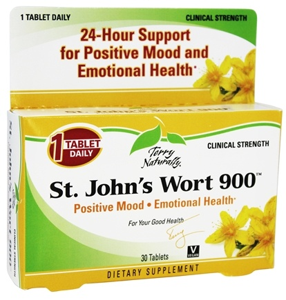 DROPPED: EuroPharma - Terry Naturally St. John's Wort 900 mg. - 30 Tablets