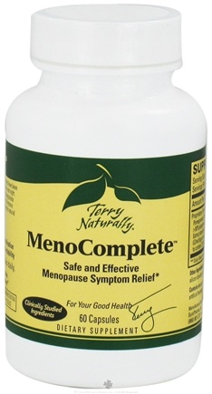DROPPED: EuroPharma - Terry Naturally MenoComplete 560 mg. - 60 Capsules CLEARANCE PRICED