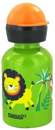 DROPPED: Sigg - Aluminum Water Bottle For Kids Jungle Fun - 0.3 Liter(s) CLEARANCE PRICED