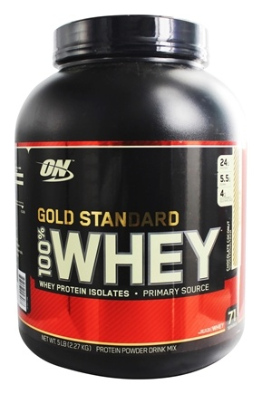 Zoom View - 100% Whey Gold Standard Protein Powder