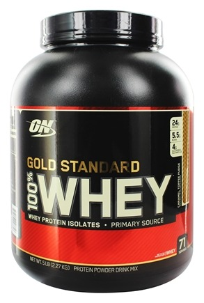 DROPPED: Optimum Nutrition - 100% Whey Gold Standard Protein Caramel Toffee Fudge - 5 lbs.