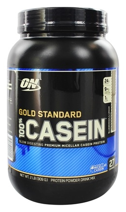 DROPPED: Optimum Nutrition - 100% Casein Gold Standard Blueberries & Cream - 2 lbs.