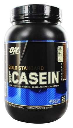 DROPPED: Optimum Nutrition - 100% Casein Gold Standard Chocolate Cake Batter - 2 lbs.
