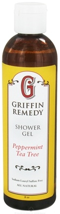 DROPPED: Griffin Remedy - Shower Gel Peppermint Tea Tree - 8 oz.