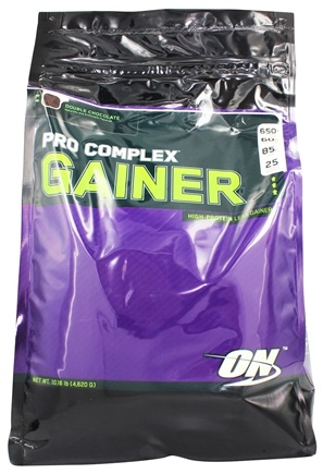 Optimum Nutrition - Pro Complex High Protein Lean Gainer Double Chocolate - 10.16 lbs.