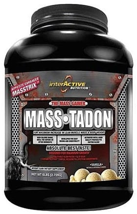 DROPPED: InterActive Nutrition - Mass-Tadon Vanilla - 6 lbs. CLEARANCE PRICED