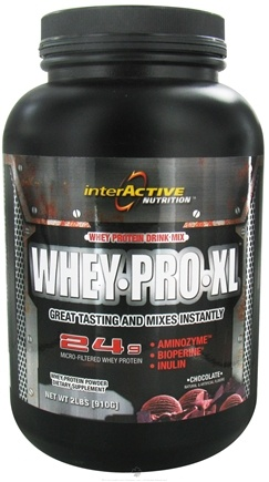DROPPED: InterActive Nutrition - Whey Pro XL Chocolate - 2 lbs. CLEARANCE PRICED