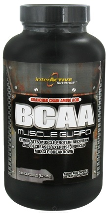 DROPPED: InterActive Nutrition - BCAA Muscle Guard - 240 Capsules