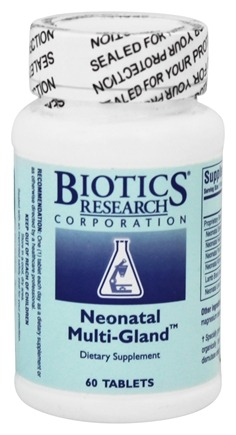 DROPPED: Biotics Research - Neonatal Multi-Gland - 60 Tablets
