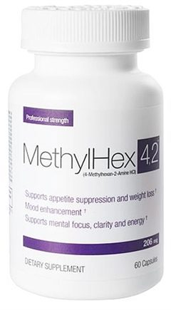 DROPPED: SEI Pharmaceuticals - Methyl Hex 4,2 - 60 Capsules