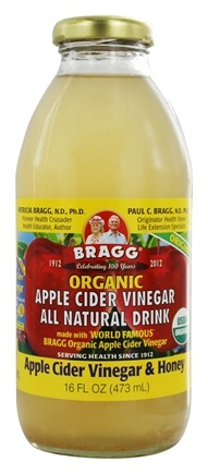 Bragg - Organic Apple Cider Vinegar All Natural Drink Vinegar & Honey - 16 oz.