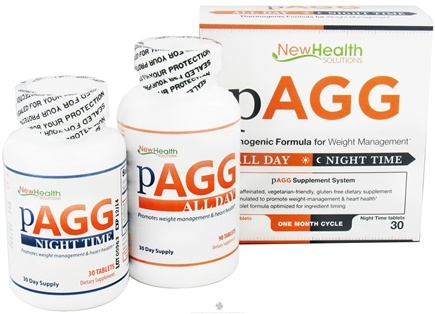 DROPPED: New Health Solutions - pAGG Supplement System One Month Cycle - 120 Tablets CLEARANCE PRICED
