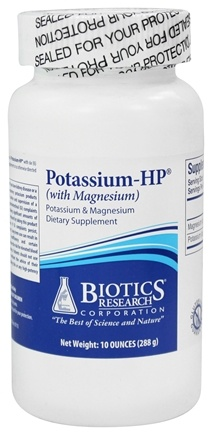 Biotics Research - Potassium-HP (with Magnesium) - 9.5 oz.