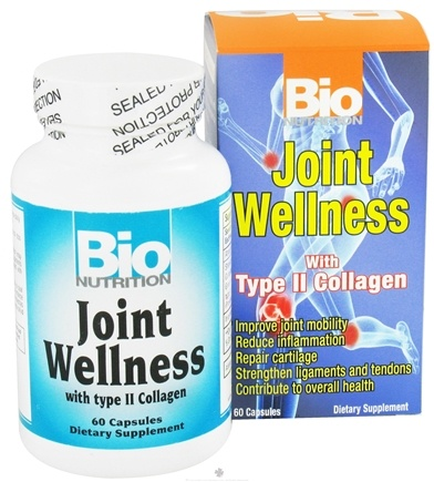 DROPPED: Bio Nutrition - Joint Wellness with Type II Collagen - 60 Capsules CLEARANCE PRICED