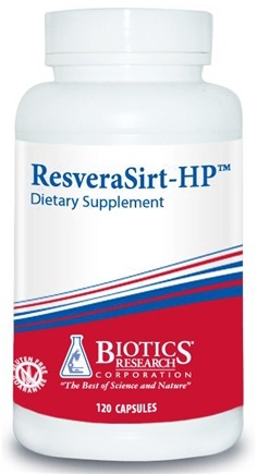 DROPPED: Biotics Research - ResveraSirt-HP - 120 Capsules CLEARANCE PRICED