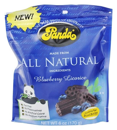 DROPPED: Panda - Licorice Soft Chews Blueberry - 6 oz.