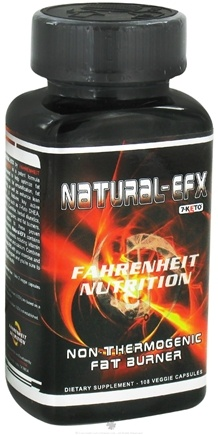 Zoom View - Natural EFX Non-Thermogenic Fat Burner