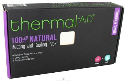 "DROPPED: Thermal-Aid - 100% Natural Heating and Cooling Pack - Small Sectional 9"" X 13"" - CLEARANCE PRICED"