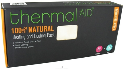 "DROPPED: Thermal-Aid - 100% Natural Heating and Cooling Pack - Large Sectional 15"" X 18.5"" - CLEARANCE PRICED"