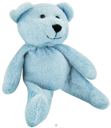 "DROPPED: Thermal-Aid - 100% Natural Heating and Cooling Pack Ages 3 Plus - 12"" X 5"" Blue Bear - CLEARANCE PRICED"