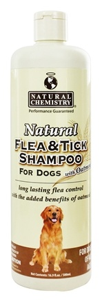 DROPPED: Natural Chemistry - Natural Flea & Tick Shampoo With Oatmeal For Dogs - 16.9 oz.