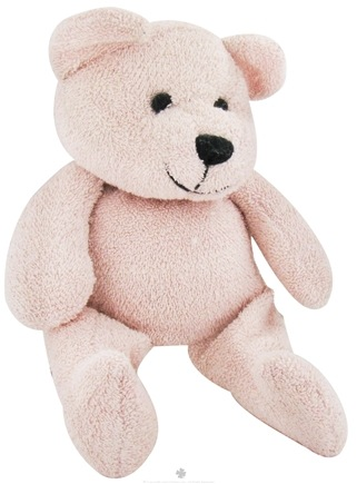 "DROPPED: Thermal-Aid - 100% Natural Heating and Cooling Pack Ages 3 Plus - 12"" X 5"" Pink Bear - CLEARANCE PRICED"