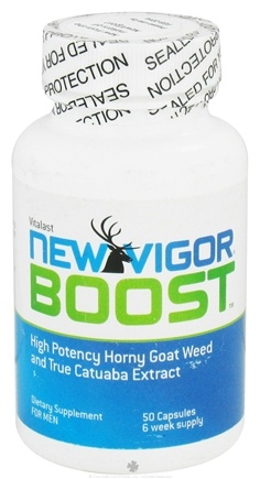 DROPPED: Vitalast - New Vigor Boost - 50 Capsules CLEARANCE PRICED
