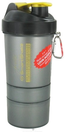 DROPPED: SmartShake - 3 in 1 Multi Storage Shaker BPA Free Jay Cutler Limited Gold Edition - 20 oz. CLEARANCE PRICED