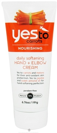 DROPPED: Yes To - Carrots Daily Softening Hand and Elbow Cream - 6.76 oz. CLEARANCE PRICED