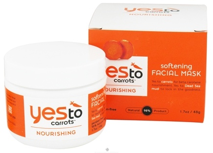 DROPPED: Yes To - Carrots Softening Facial Mask - 1.7 oz. CLEARANCE PRICED