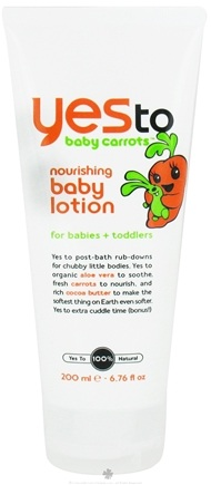 DROPPED: Yes To - Baby Carrots Nourishing Baby Lotion for Babies and Toddlers - 6.76 oz. CLEARANCE PRICED