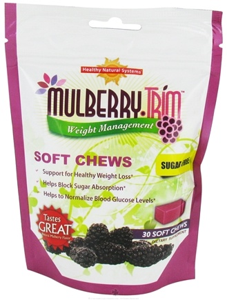 DROPPED: Healthy Natural Systems - Mulberry Trim Life Essentials - 30 Soft Chews