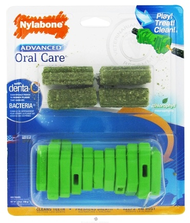 DROPPED: Nylabone - Advanced Oral Care Dental Bars & Treat Holder - CLEARANCE PRICED