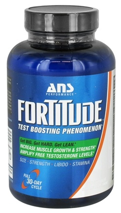 DROPPED: ANS Performance - Fortitude Test Boosting Phenomenon - 120 Capsules CLEARANCE PRICED