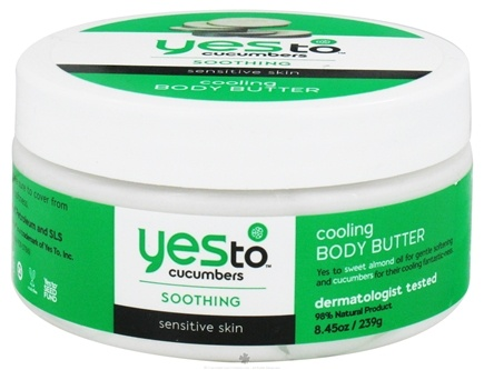 DROPPED: Yes To - Cucumbers Cooling Body Butter - 8.45 oz. CLEARANCE PRICED