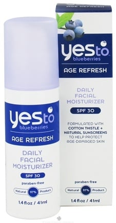 DROPPED: Yes To - Blueberries Daily Facial Moisturizer 30 SPF - 1.4 oz. CLEARANCE PRICED