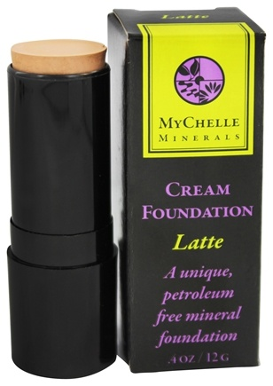 DROPPED: MyChelle Dermaceuticals - Minerals Cream Foundation Latte - 0.4 oz.