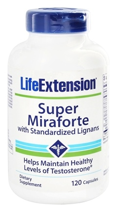 DROPPED: Life Extension - Super Miraforte with Standardized Lignans - 120 Capsules