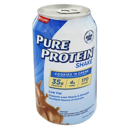 DROPPED: Pure Protein - Shake Cookies 'n Cream - 11 oz. CLEARANCE PRICED