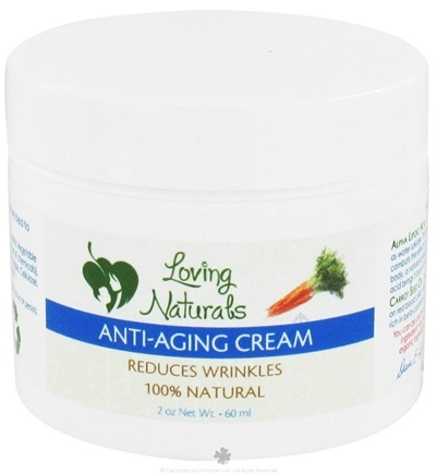 DROPPED: Loving Naturals - Anti-Aging Cream - 2 oz.